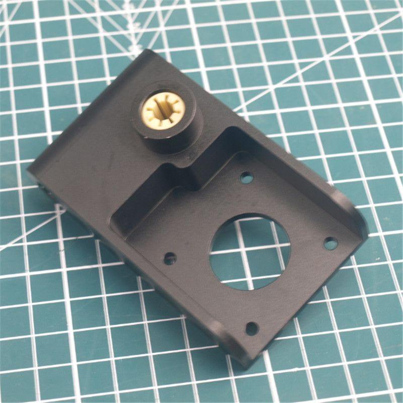 1 stücke Eloxiertem Aluminium Ultimaker Titan Aero Montage Halterung UM2 3D drucker direkt extruder halterung/halter
