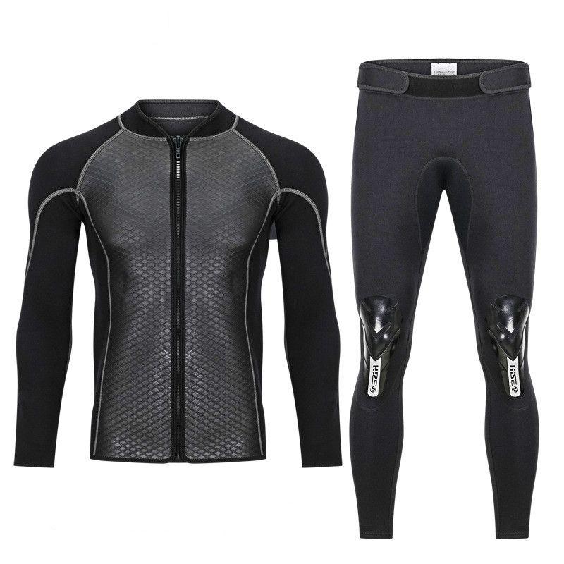 Hisea 2.5mm Neoprene Swimwear Surfing Scuba Diving Pants Trousers Wetsuit Wind surfing Fishing Snorkeling High Elastic Warm