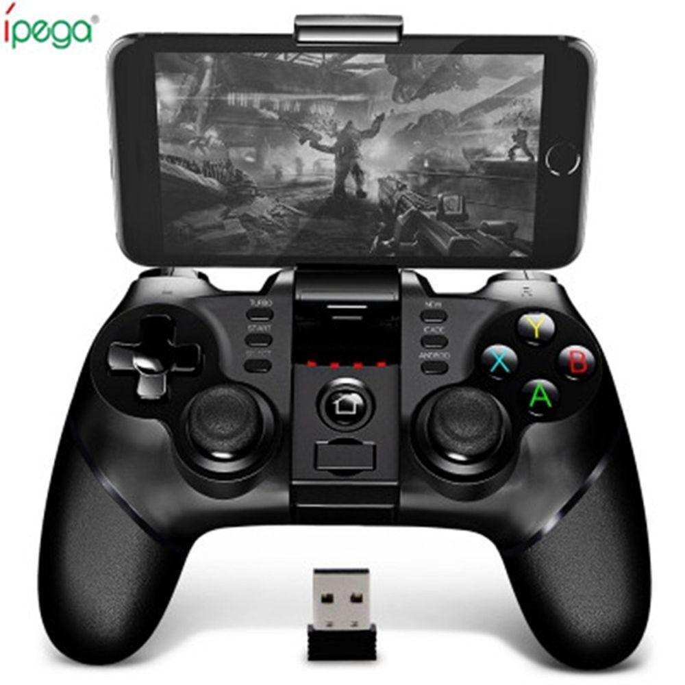 IPega PG-9076 9077 sans fil Bluetooth Gamepad 2.4G support Joystick Android Win Console de jeu lecteur pour SmartPhone PS3