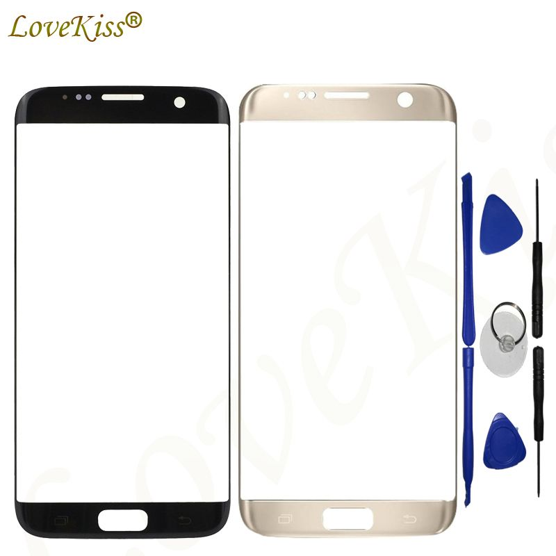 Lovekiss Touchscreen Panel For Samsung S7 Edge G935 G935F G935FD Touch Screen Sensor LCD Display Digitizer Glass Replacement