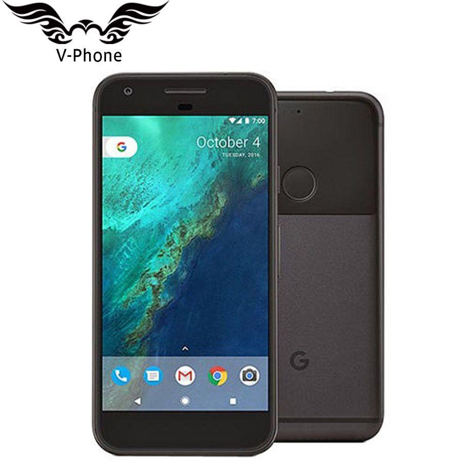 Original Brand NEW EU Version Google Pixel 32GB 128GB Smartphone 5.0'' Snapdragon Quad Core 4G LTE Android 4GB RAM Mobile Phone