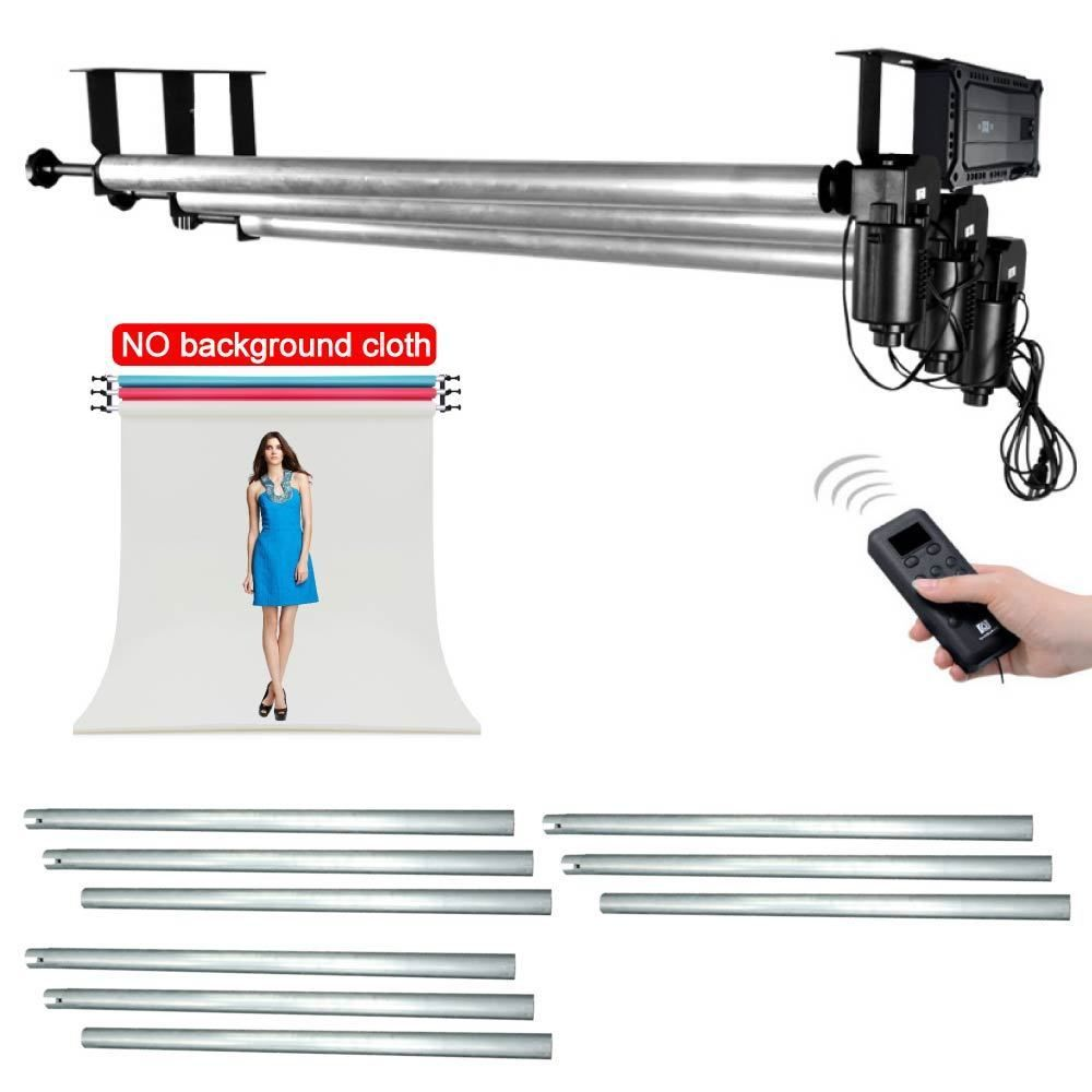 Studio 3 Roller Wall / Ceiling Mount Motorized Electric Background Backdrop Photography Support System + 3X 3M Cross Bar