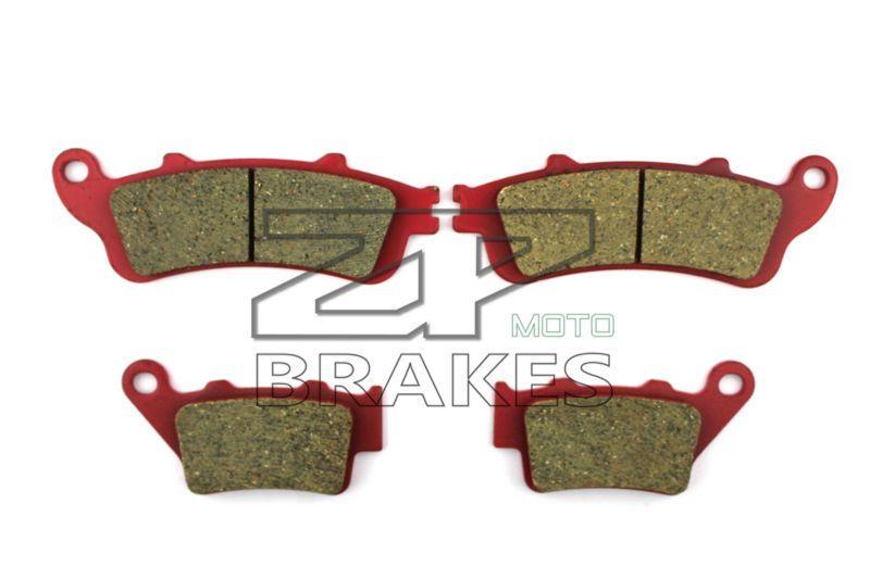 Ceramic Brake Pads For HONDA FES 150 3/4/5 Pantheon 2003-2006 Front + Rear OEM New High Quality ZPMOTO