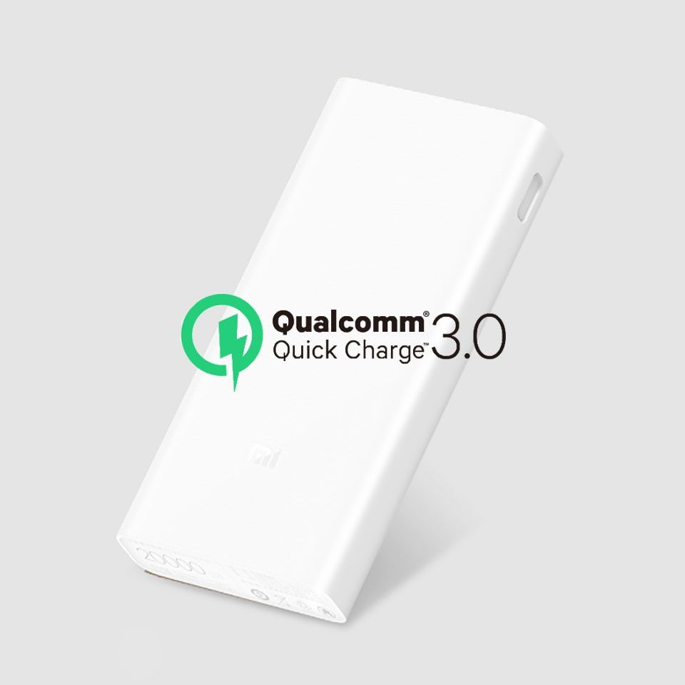 Original Xiaomi Power Bank 20000mAh 2C Portable Charger Dual USB Mi External Battery Bank 20000 for Mobile Phones and Tablets