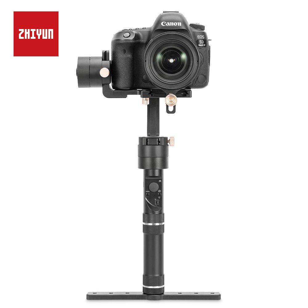 ZHIYUN Kran Plus Gimbal Heavy Duty 3 Achse 2,5 KG Nutzlast für Die Meisten von DSLR und Spiegellose Kamera SONY, CANON Handheld Stabilisator