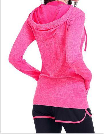 Eshtanga hoodies Free Shipping Yoga hoodie Sport Gym Fitness Athletic Running Trainning sweatshirt with hood Size XS-XL