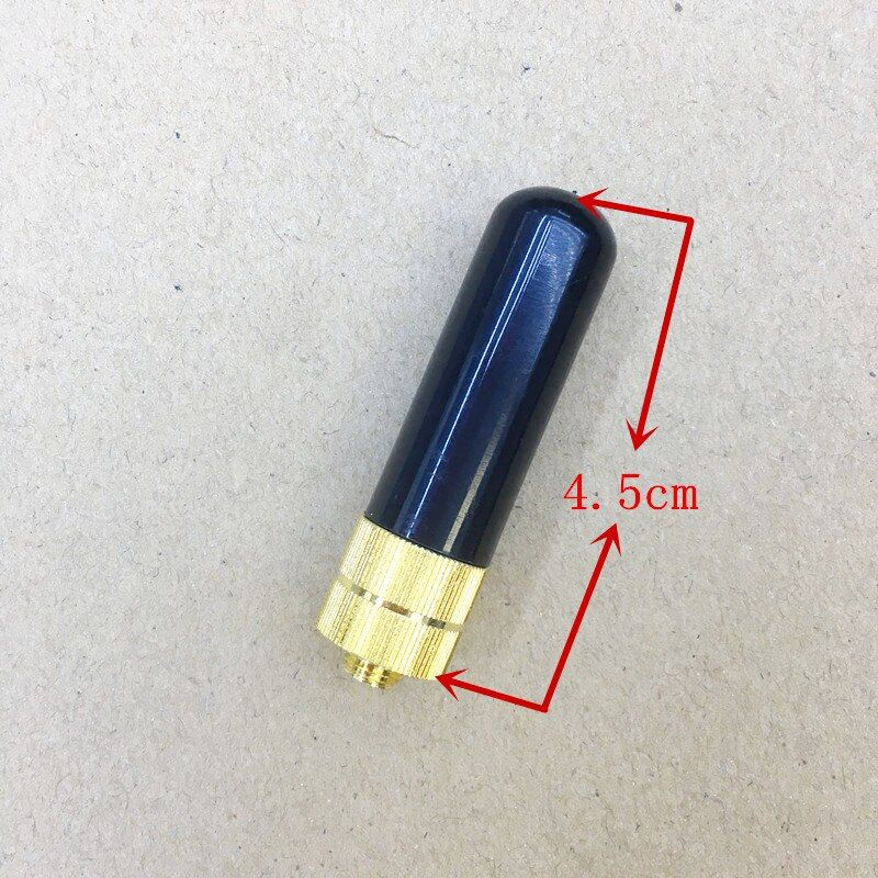 Antena corta srh805s hembra sma para kenwood baofeng uv5r honghuismart, kg-uv2 quansheng, puxing wouxun etc walkie talkie 4.5 cm