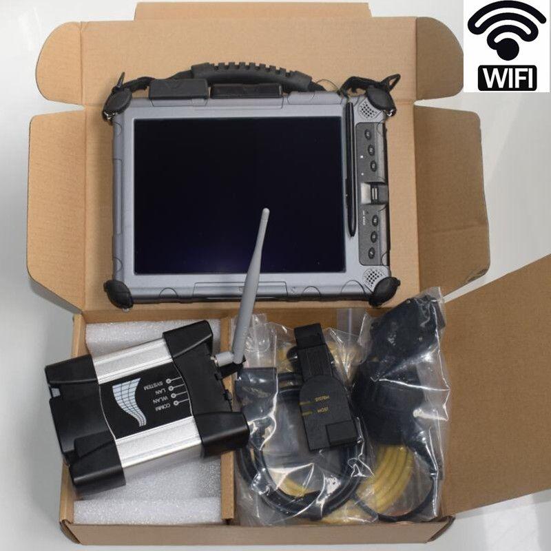 auto diagnostic tool for bmw e38 e36 wifi icom next a b c with software in laptop ix104 (4g, i7) installed 2018.09v icom ssd