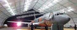 Large Portée Structure En Acier Hangar D'avion Bâtiments Couverts Panneau de Toit