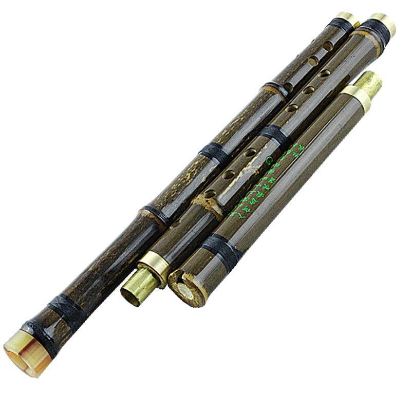Bambou chinois Flauta Xiao Vertical vent Instruments de musique huilu flûte 8 trous G/F clé flauto avec accessoires livraison gratuite