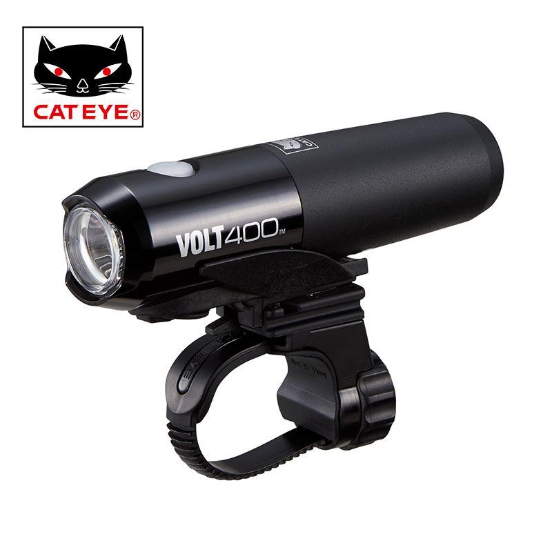 CATEYE Bikes Tragbare LED Licht 400 Lumen 5 Modi Fahrrad Fahrrad Lenker/Helm Vorne Lichter Radfahren Reiten Sicherheit Licht lampen