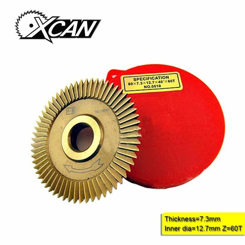 P252 60*7.3*12.7mm lame pour Wen Xing clé Machine clé coupe lame serrurier outils
