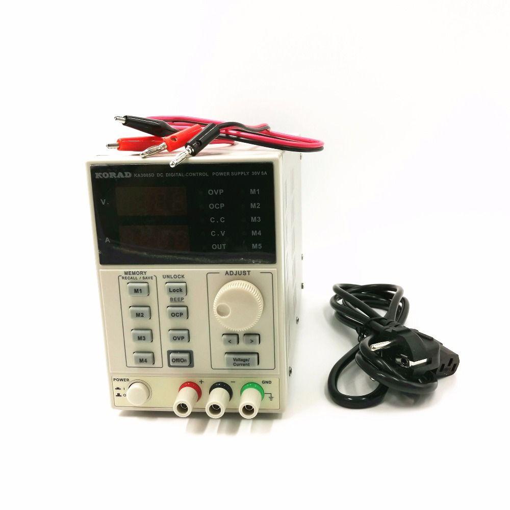 220V KA3005D high precision Adjustable Digital DC Power <font><b>Supply</b></font> 30V/5A for scientific research service Laboratory 0.01V 0.001A