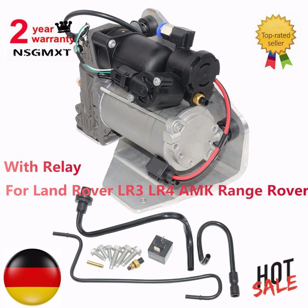 Air Suspension Compressor Fits For Land Rover LR3 LR4 AMK Range Rover LR015303 LR023964 LR044360 6H2219G525BE