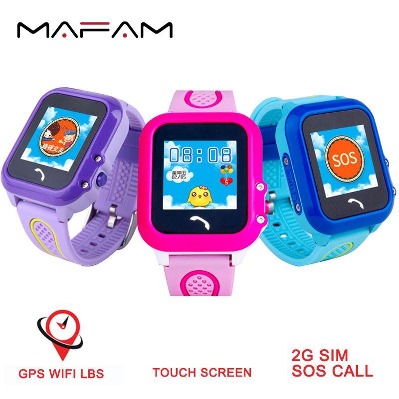 MAFAM DF27 Kids GPS Watch Smart Watch For Kids IP68 Waterproof SOS Call GPS Location Electronic Fence PK Q50 Q90