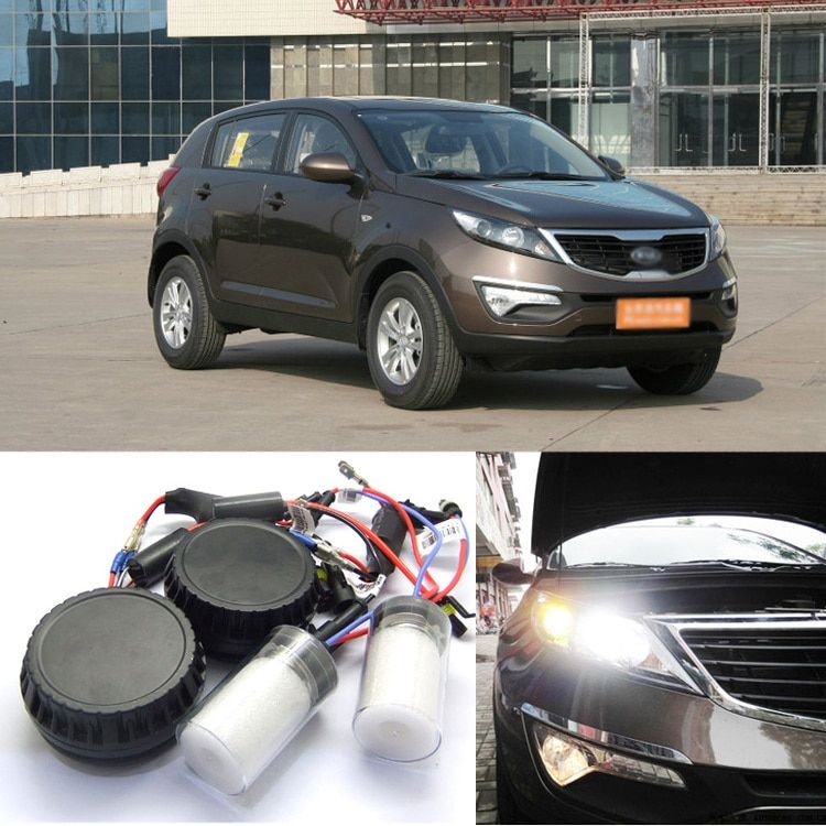 Ownsun New Generation All In One Lower Beam Error Free H7 HID Lights For KIA Sportage R 2010-2015