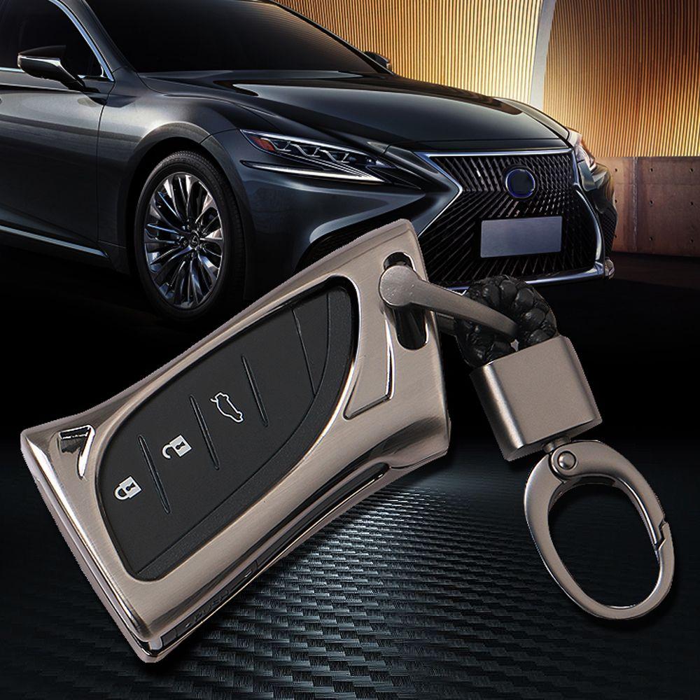 Neue ankunft Mode zink-legierung Smart keyfob abdeckung shell fall Für Lexus es200 es260 es300h es350 LS350 LS500h f sport 2018 2019