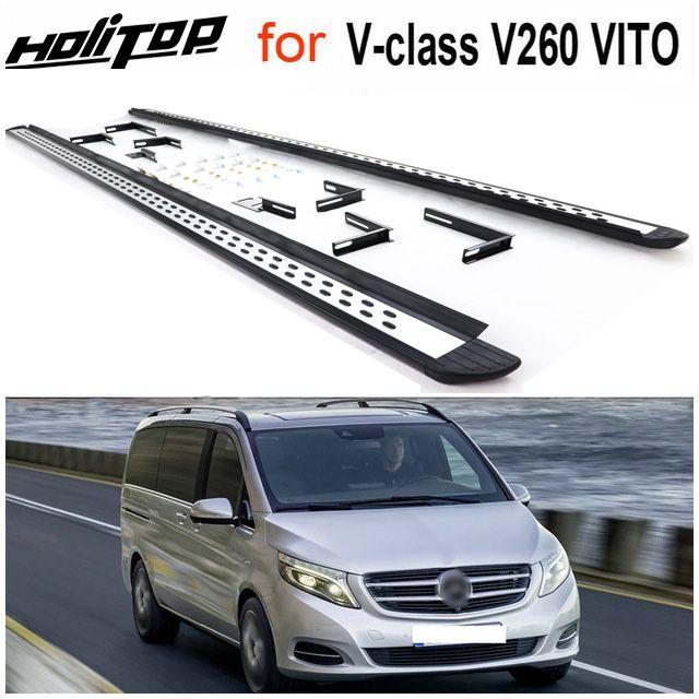 Neue ankunft VITO V260 V-klasse Valente trittbrett seite schritt nerf bar, geliefert von ISO9001 top fabrik, dringend empfohlen