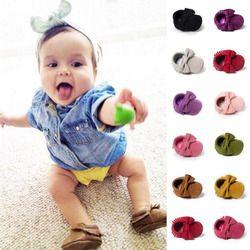 Romirus borlas bebé Niñas Zapatos mocasín niño Primeros pasos recién nacido calzado interior Niño Pram bebe bebé Niños Zapatos