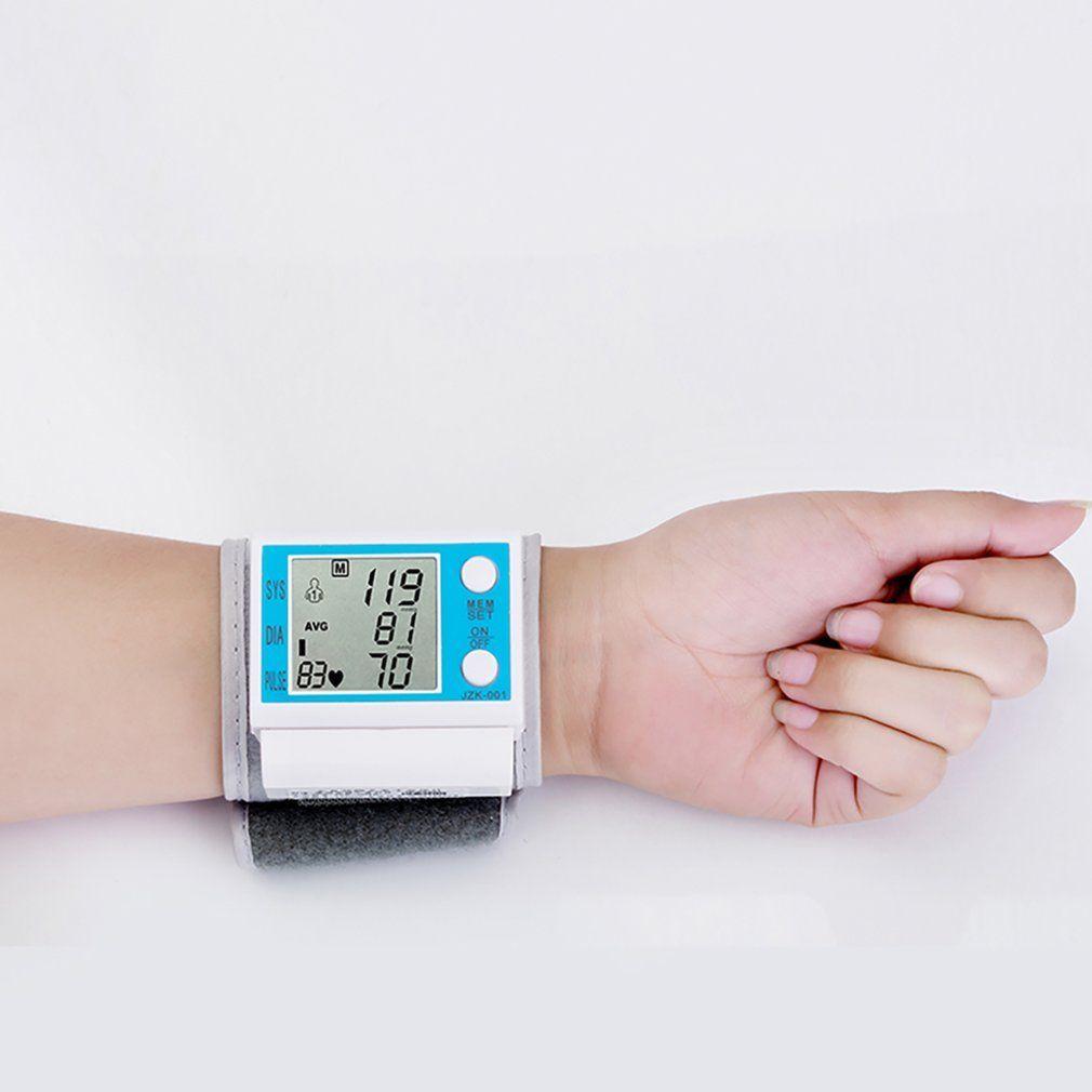 New Automatic Digital Arm Blood Pressure Monitor Sphygmomanometer Pressure Gauge Meter Tonometer for Measuring Arterial Pressure