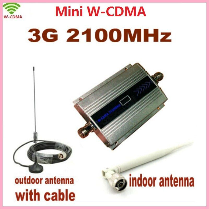LCD Familie WCDMA UMTS 3G 2100 MHz Handy Signal Booster Repeater 3G GSM Repetidor Handy Signal verstärker mit Antenne