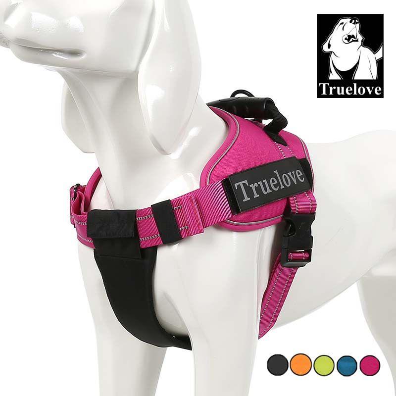 Truelove собаку воротник жгут проводов жилет маленький большой сетки тяжелых Светоотражающие Собака использовать для домашних животных для со...