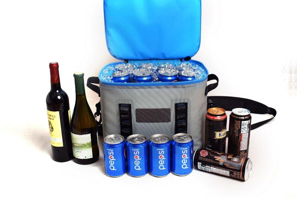 Gzlbo 24 может бункера флип переносная водонепроницаемая сумка-холодильник