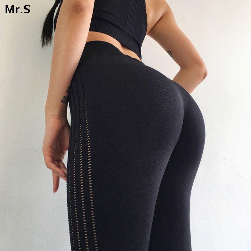 DIQIAN Women's high waist yoga pants Push up gym leggings squat proof sport legging Tummy control seamless yoga leggings