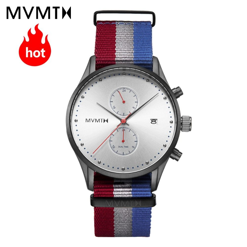 MVMT watch Official Authorized Genuine European and American style fashion new vintage students men's male watch 42mmdw