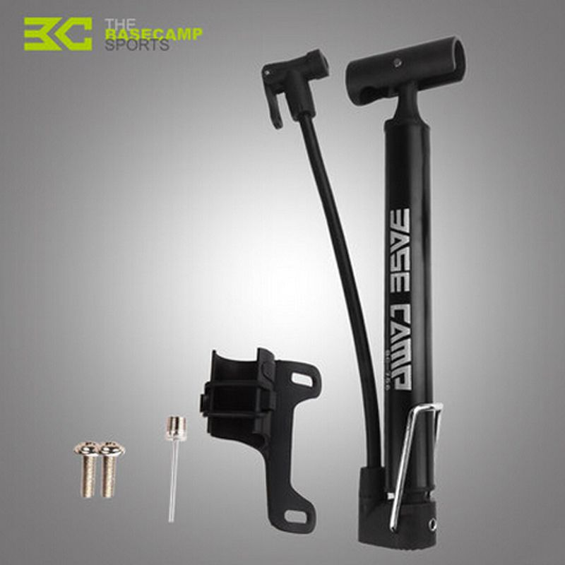 BASECAMP Bike Pump Bicycle Tire Portable Inflator Air Pump Mountain Road Bike MTB Cycling Air Press Frame Accessories