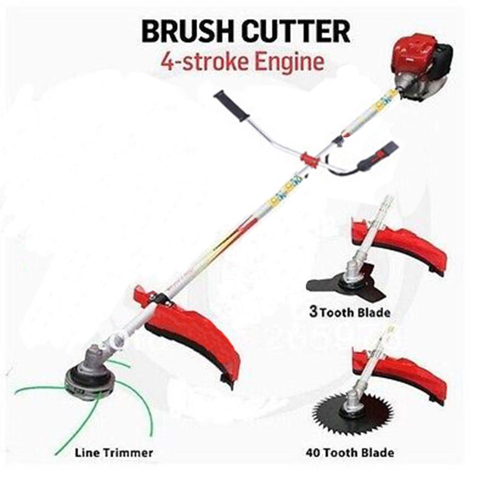Professional trimmer cutter work 4 Stroke Engine Honda GX35 Copy model brush cutter grass trimmer 3T blade 40T blade 3 in 1