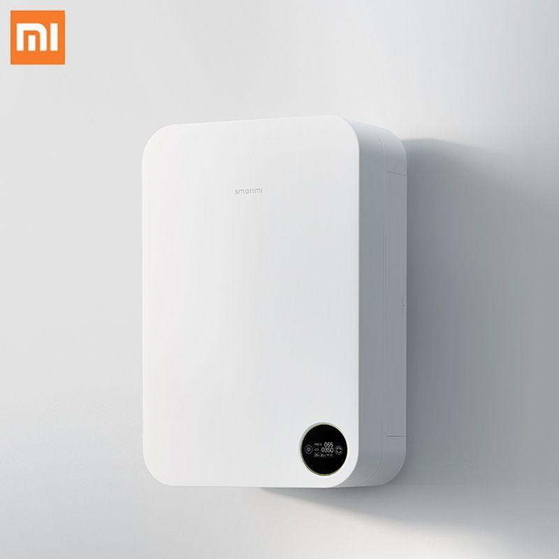 Xiaomi Luftreiniger Wand Montiert Haushalts Schweigen Frische Luftreiniger Intelligente Steuerung Sauerstoff Versorgung Reiniger Luftreiniger