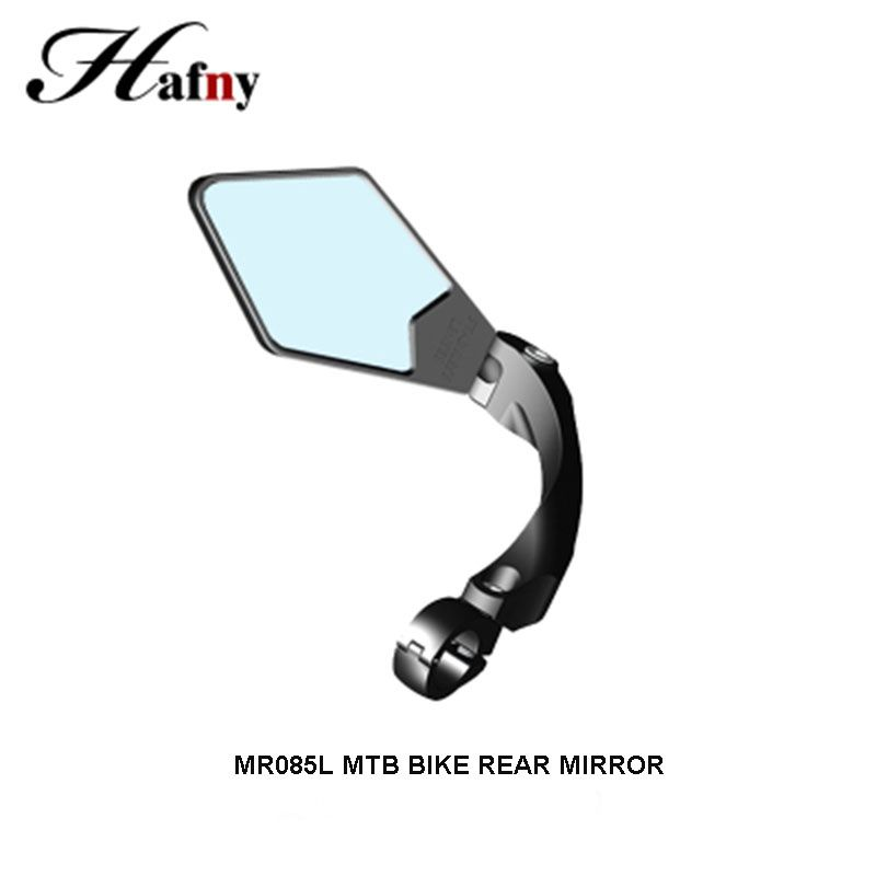 Hafny Bike Rearview Mirror MTB Road Bicycle Mirror Acrylic Bike Handlebar Blind Spot Mirror Flexible Cycling Safety Rear Mirror