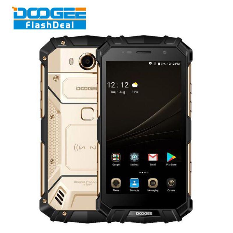 DOOGEE S60 IP68 Waterproof Dustproof Phone 6GB+64GB 5.2
