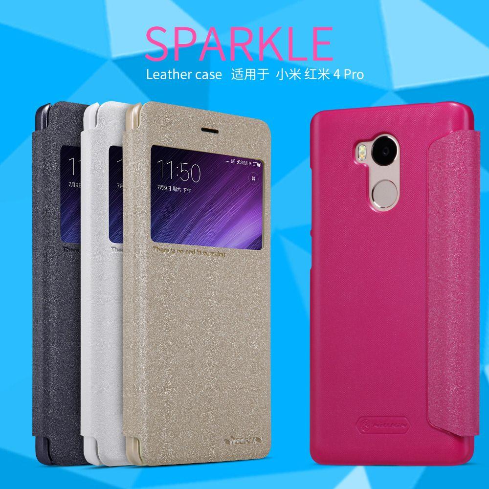 Pour Xiaomi Redmi4 PRO téléphone cas Nillkin Étincelle cas pour Xiaomi Redmi 4 Pro cas téléphone de protection flip couverture