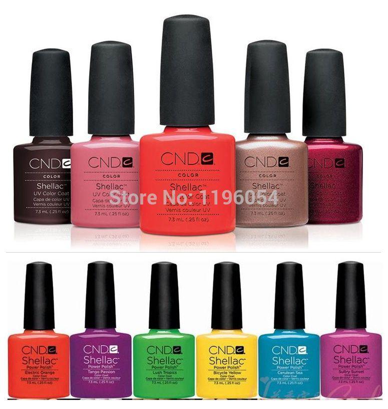 2018 CNDed Shellacs 12 Pcs/lot UV Gel Nail Kit Soak Off LED UV Gel Polish Fashion 79 Color For Nail Gel Design Nail 7.3ml