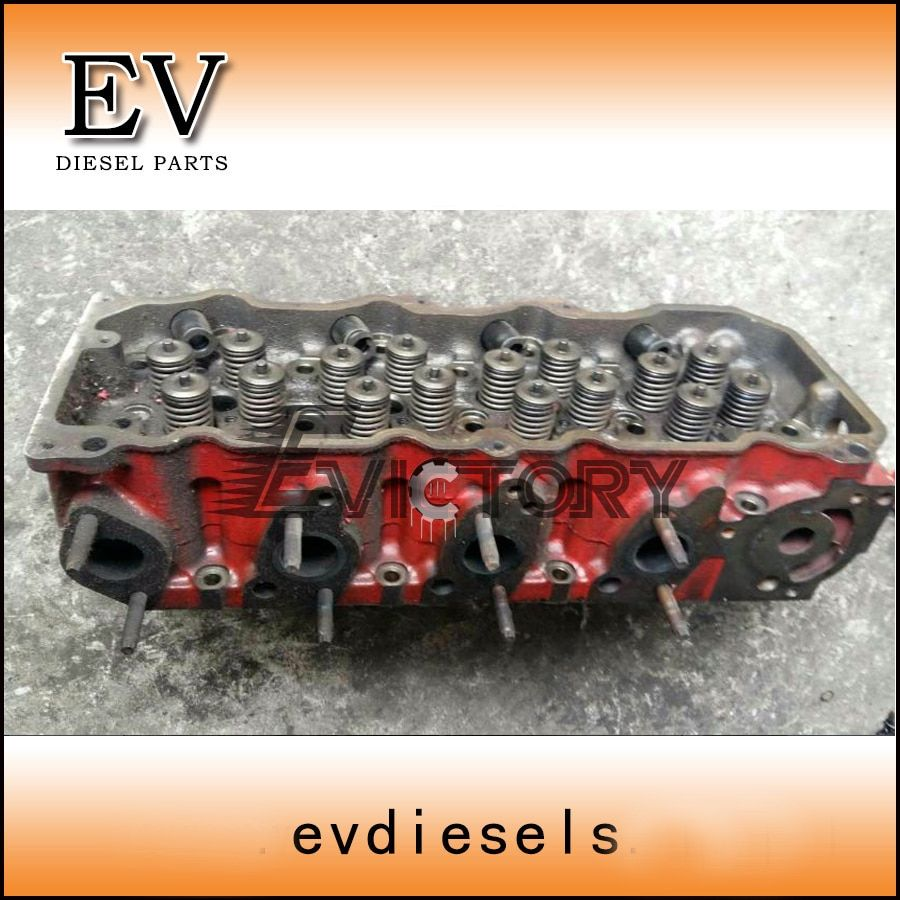 For Hino N04C N04CT cylinder head assy include valve valve guide valve seat valve spring