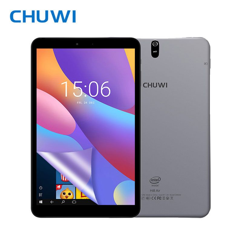 Original CHUWI Hi8 Air Tablet PC Intel X5 Quad core Android 5.0 Windows 10 2GB RAM 32GB ROM 1920X1200 Screen 4000mAh 8.0 Inch