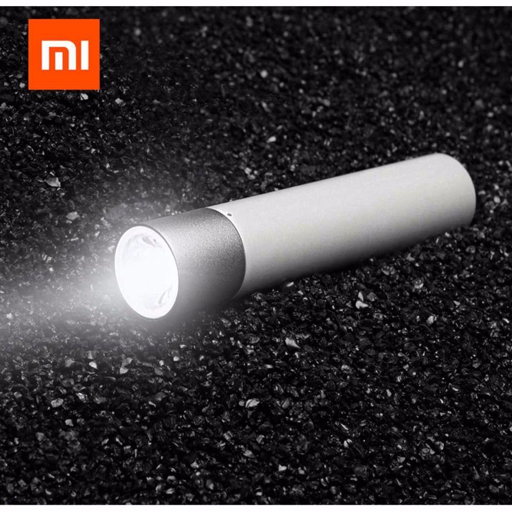 Xiaomi Tragbare Flash-licht 11 Einstellbar Leuchtdichte Modi Drehbare Lampe Kopf 3350 mah Lithium-Batterie USB Lade Port GESCHENK