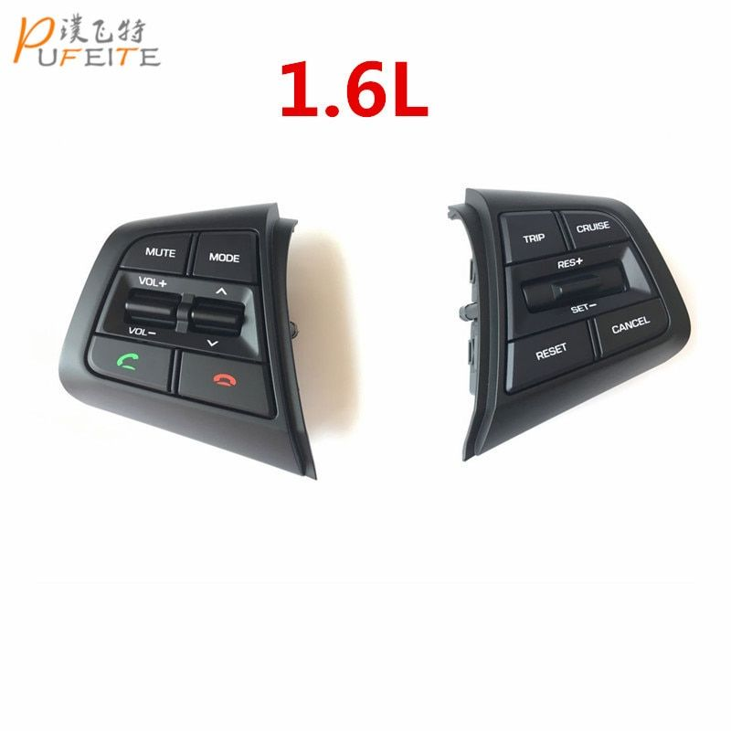 free shipping For Hyundai ix25 (creta) 1.6L Steering Wheel Cruise Control Buttons Remote Control Volume Button