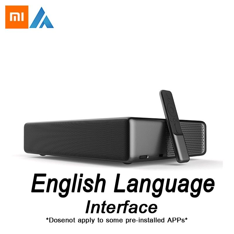 Xiaomi Fengmi Wemax one English Interface Laser Projector TV 5500 lumen 150 Inche 1080 Full HD 4K Support Bluetooth BT DOLBY DTS