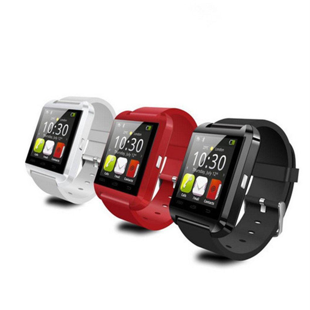 Smartwatch téléphone Bluetooth U8 montre intelligente horloge Sync notifiant connectivité pour téléphone Android Xiaomi Smartwatch montres as DZ09