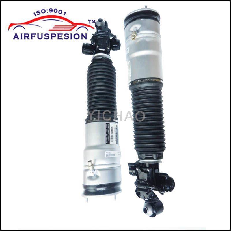 Pair for BMW 7 series 7er F01 F02 F04 Rear Air Suspension Shock Strut Air Spring 750LI 760LI 37126796930 37126858812 37124064275