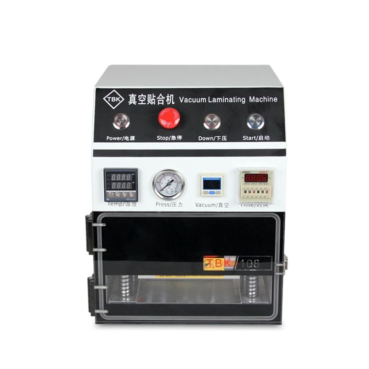 TBK OCA Lamination Machine, 7 inch Vacuum Laminating Machine for Mobile LCD refurbishment
