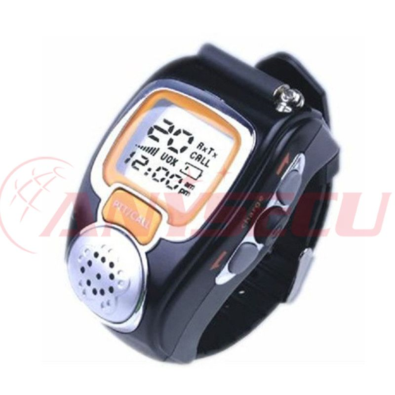 A pair mini walkie talkie wrist watch RD-008 ham radio