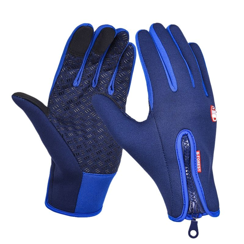 New Bicycle Gloves Men And Women New Fleece Gloves Mobile Phone Touch Screen Gloves Outdoor Sports Running Gloves