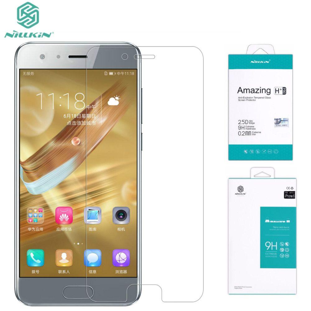 Film en verre trempé Huawei Honor 9 NILLKIN incroyable protecteur d'écran en verre trempé H/H + Pro pour Huawei Honor 9 (5.15 pouces)