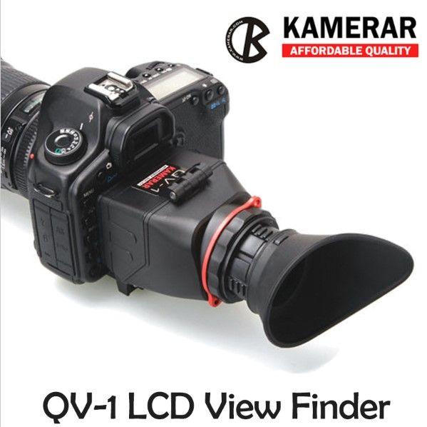 AUTHENTIC KAMERAR QV-1 LCD VIEWFINDER VIEW FINDER FOR CANON 5D MarK III II 6D 7D 60D 70D,f Nikon D800 D800E D610 D600 D7200 D90
