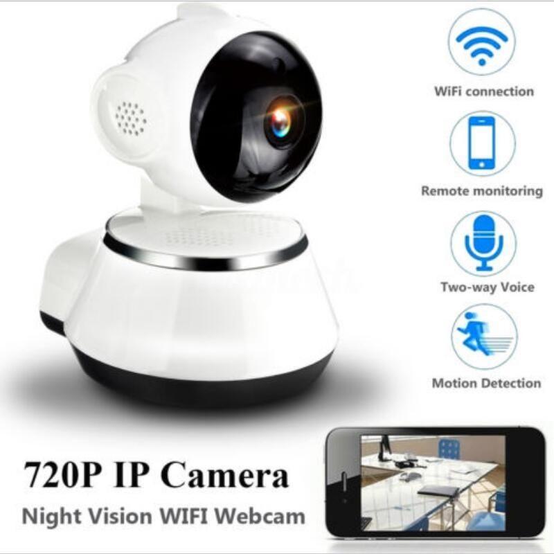 720 p HD Drahtlose Wifi IP Kamera Home Security Surveillance Kamera 3,6mm Objektiv Weitwinkel Indoor Kamera Unterstützung Nacht vision