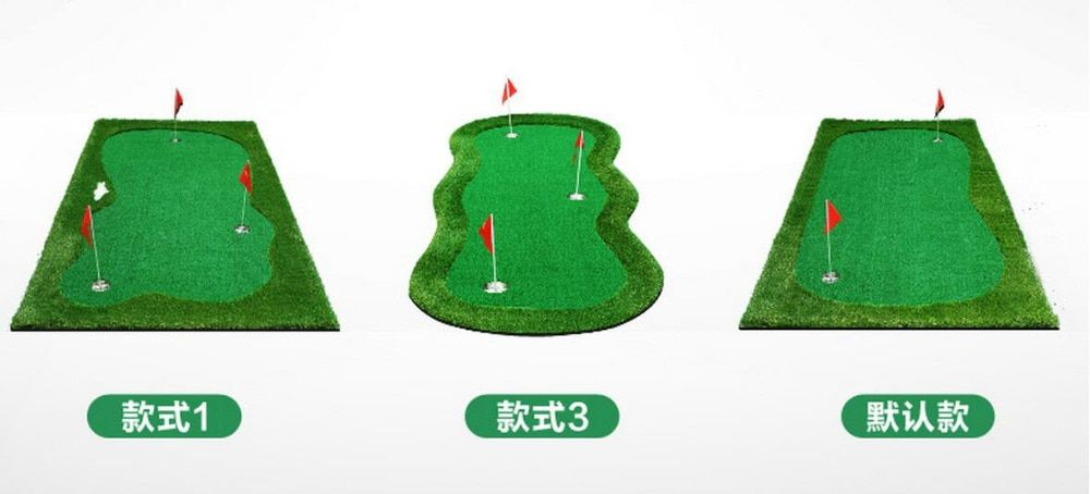 3Mx1M Standard Putting Green Golf Training Aids Mini golf exercise mat Golf sport supplies